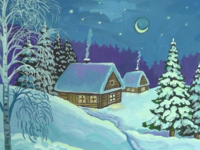 Як намалювати малюнок на тему зима легко і просто? Як намалювати будиночок взимку, зимовий пейзаж, дітвору, тварин олівцем і фарбами?