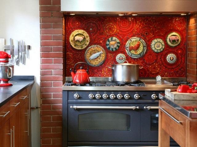 Чим закрити стіну за газовою плитою: загальні рекомендації. Фартух для стіни кухні за газовою плитою: ідеї, поради для захисту газової плити і стіни