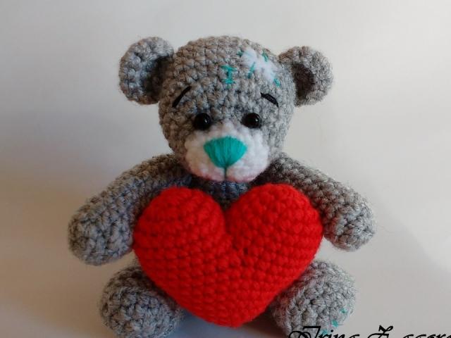 Як зв'язати Ведмедика Тедді гачком: опис, схема, фото