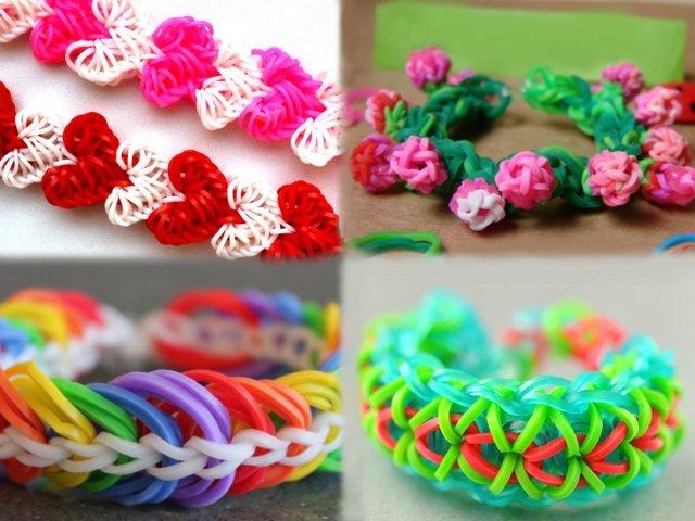Плетіння з гумок на верстаті, рогатці для новачків: ідеї, поради, прості фігури