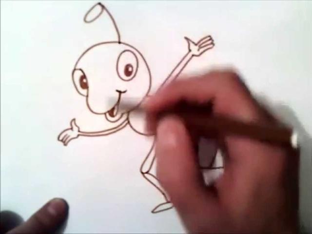 Як намалювати мурашки, мурашки Питаннячка і мудру Черепаху олівцем поетапно для початківців і дітей? Як намалювати черепаху і мурашки разом дитині?