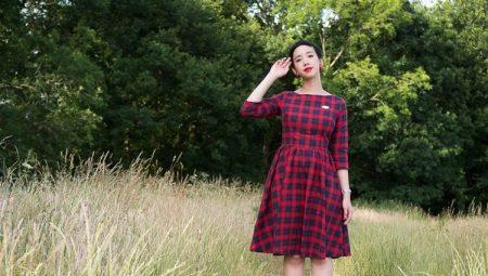 Сукня в шотландську клітку – що в ньому особливого?