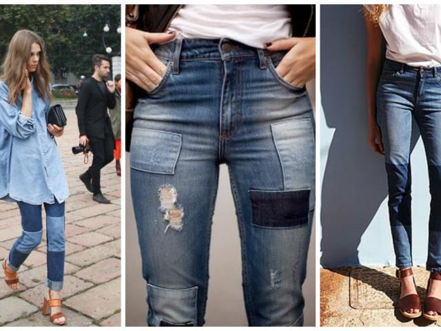 Як красиво зробити латку на джинсах між ніг, на коліні, сідницях, вище коліна своїми руками вручну і на машинці, приклеїти праскою: інструкція. Красиві, модні, шкіряні заплатки на жіночі, чоловічі і дитячі джинси своїми руками: ідеї, фото