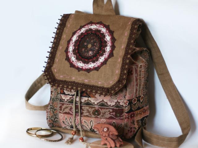 Сумки в стилі Бохо своїми руками: клатч, рюкзак, джинсові, в'язані
