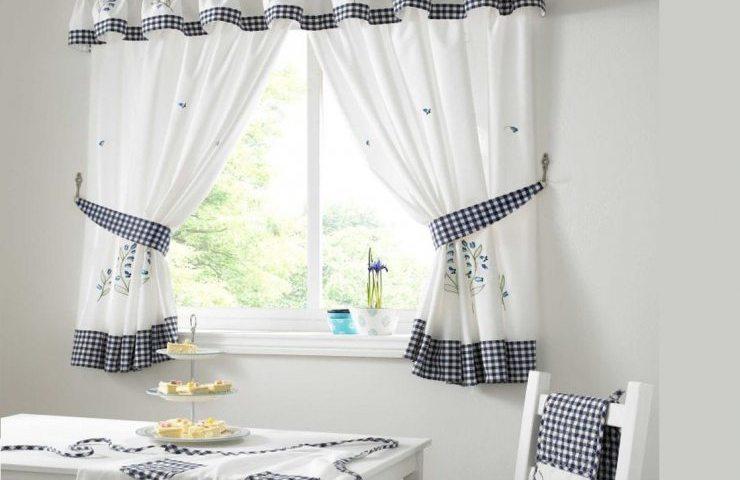 Як зшити штори для кухні своїми руками: інструкція. Які ще бувають штори для кухні — приклади, фото, відео