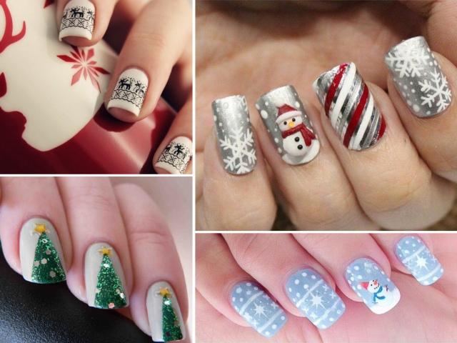 Манікюр зі сніговиком: фото. Як намалювати сніговика на нігтях покроково?