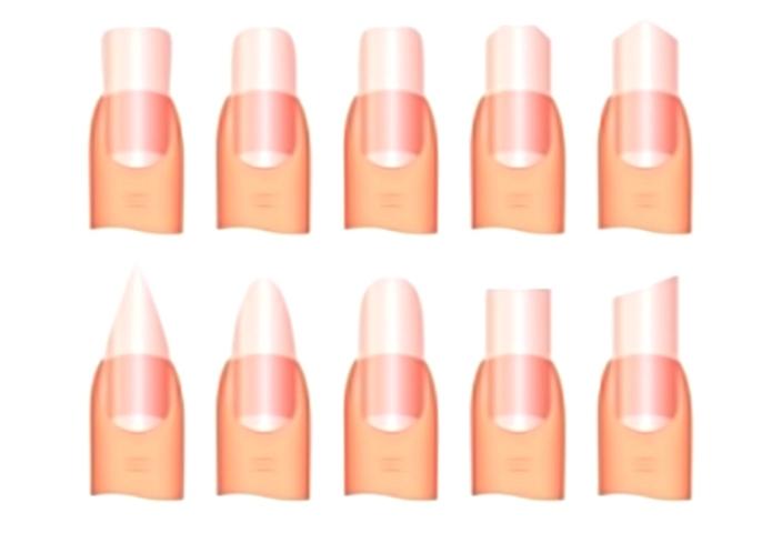 Як зробити красиву форму нігтів для манікюру в домашніх умовах? Як надати нігтям форму на руках і ногах?
