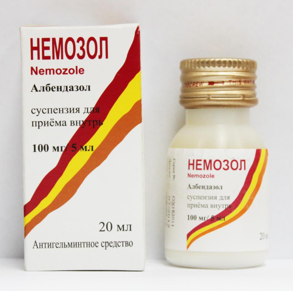 Немозол: інструкція із застосування, відгуки паразитологів