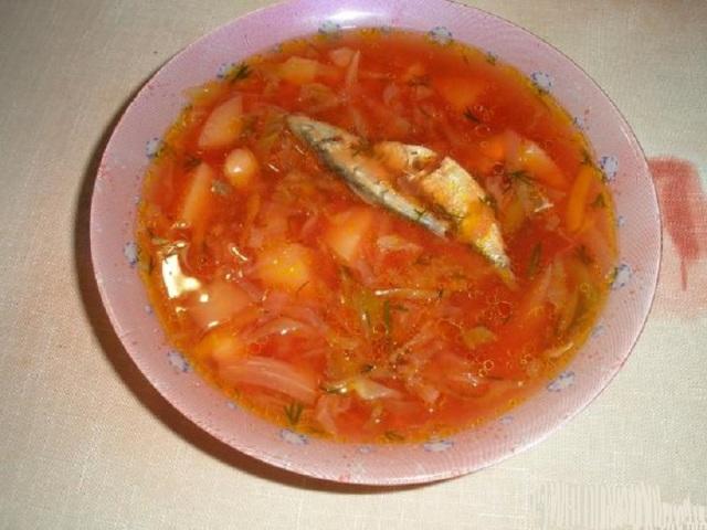 Щі з пекінської, цвітною капустою і з рибних консервів у томатному соусі зі свіжою капустою: найкращі рецепти