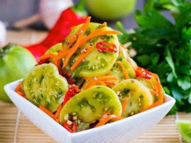 Зелені помідори по-корейськи: найсмачніший рецепт