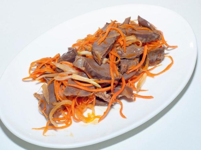 Курячі шлунки по-корейськи: 2 запаморочливі рецепти з докладним описом