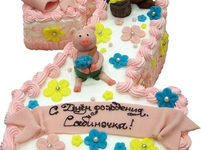 Смачний дитячий торт на День народження у формі цифри 2 на 2 роки хлопчику, дівчинці своїми руками, з мастикою, без мастики, торт-крем, на 2 роки весілля, закінчення 2 класу, Маша і Ведмідь 2: покрокові рецепти, фото, відео. Як зробити цифру 2 з паперу