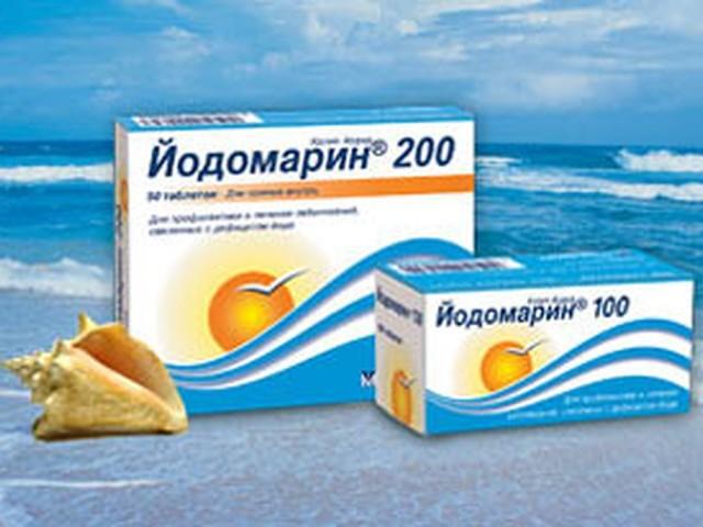 Препарат Йодомарин 200: інструкція із застосування, склад, протипоказання, побічна дія, передозування, відгуки. Для лікування будь-яких захворювань приймати Йодомарин 200? Як приймати таблетки Йодомарину 200 вагітним, дітям: дозування