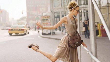З чим носити бежеву сукню?