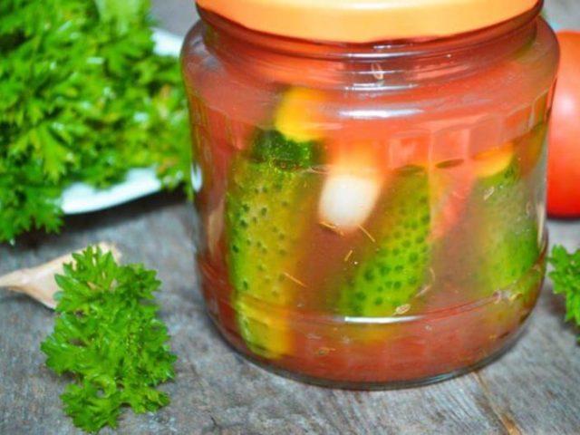 Консервація огірків з кетчупом чилі на зиму: кращі рецепти. Огірки з кетчупом чилі Махеев, Торчин, без стерилізації, різані на зиму: рецепт на літрову банку