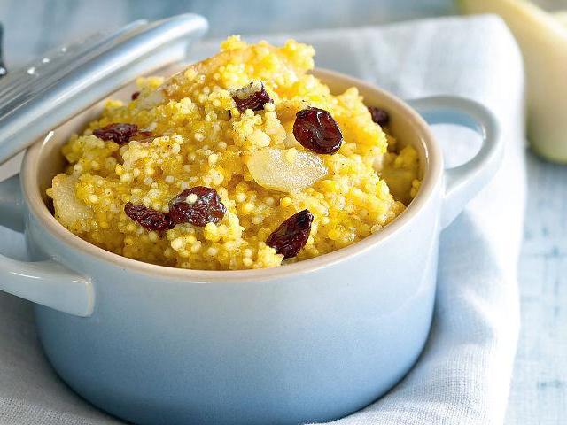 Як правильно варити пшоняну кашу: кращі рецепти. Каша пшоняна на молоці і на воді з гарбузом, м'ясом, тушкованим м'ясом, куркою, родзинками, рисом, картоплею, курагою, яблуками, кабачком, сухофруктами, чорносливом, сиром, овочами, сиром, салом і цибулею,