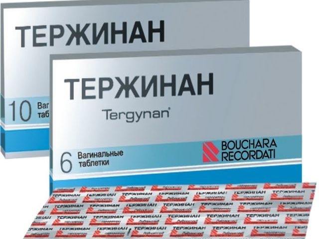 Вагінальні таблетки, свічки Тержинан: від чого допомагають, склад, інструкція із застосування, дія препарату, показання та протипоказання до застосування, заходи безпеки, побічні ефекти, взаємодія з іншими препаратами