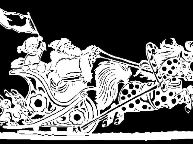 Новорічні візерунки на вікнах з білого паперу: трафарети, шаблони для вирізання і наклеювання малюнка, витинанки, фото. Красиві паперові новорічні, зимові візерунки на вікнах до Нового року для оформлення: трафарети, шаблони, витинанки, фото