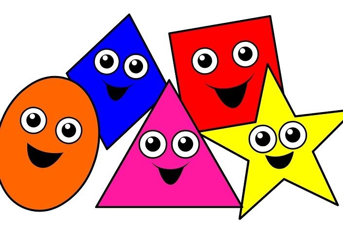 Вивчаємо геометричні фігури для дітей 1-3 років: методики навчання, ігри, розмальовки
