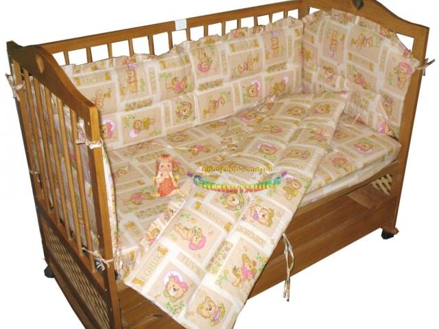 Як зшити бортики в дитячу ліжечко для новонароджених своїми руками: викрійки, розміри, фото