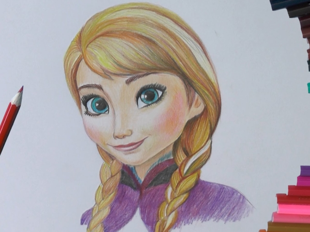 Як намалювати Анну з «Холодного Серця» поетапно олівцем? Як намалювати Анну «Холодного Серця» у вигляді поні?