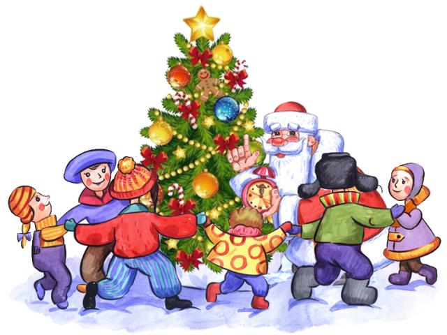 Сценарій свята на Новий рік у дитячому садку для середньої групи у вигляді казки. Конкурси, пісні, вірші, танці, ігри, загадки сценки для новорічного ранку у середній групі дитячого садка