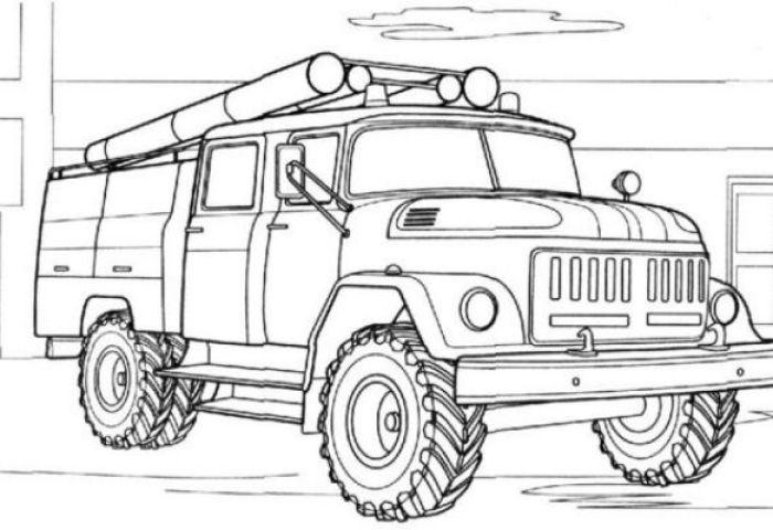 Як намалювати пожежника та пожежну машину поетапно олівцем для початківців і дітей? Як намалювати пожежного, який гасить пожежу поетапно?