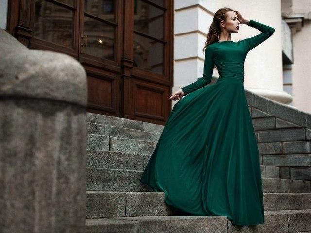 Смарагдове плаття: поєднання, фото. Де купити і з чим носити смарагдові сукні?