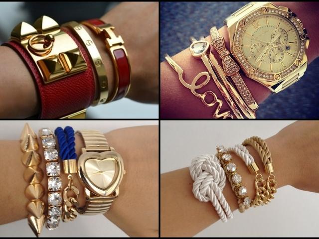 Як замовити стильні і модні брендові жіночі браслети золоті, срібні, мотузкові, шкіряні з червоної і чорної нитки на Ламода: каталог, ціна, фото