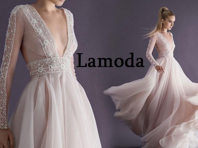 Як купити брендове весільне плаття на Ламода онлайн: біле, пишне, трансформер, рожеве, великого розміру: каталог, ціна, фото, огляд