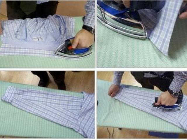 Як правильно гладити сорочку: покрокова інструкція, сучасні технології для полегшення прасування. Як погладити сорочку за хвилину?
