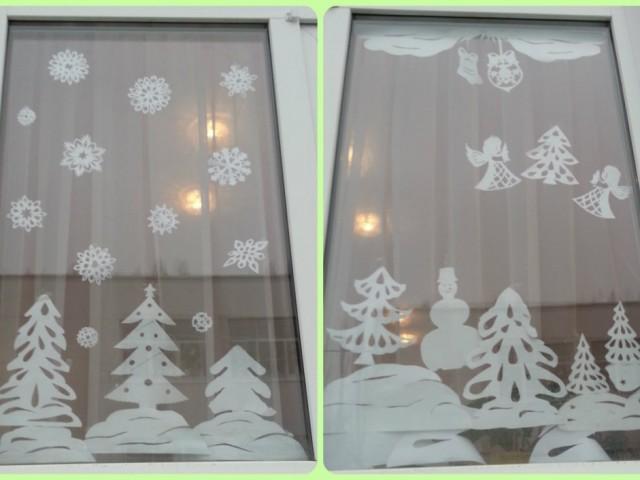Трафарети будиночків на вікна для прикраси до Нового року: завантажити для вирізання. Новорічні трафарети та витинанки на вікна – зимові будиночки в снігу, з трубою і димом, ялинкою, заметами, казкові, прості, сільські: шаблони, трафарети, фото