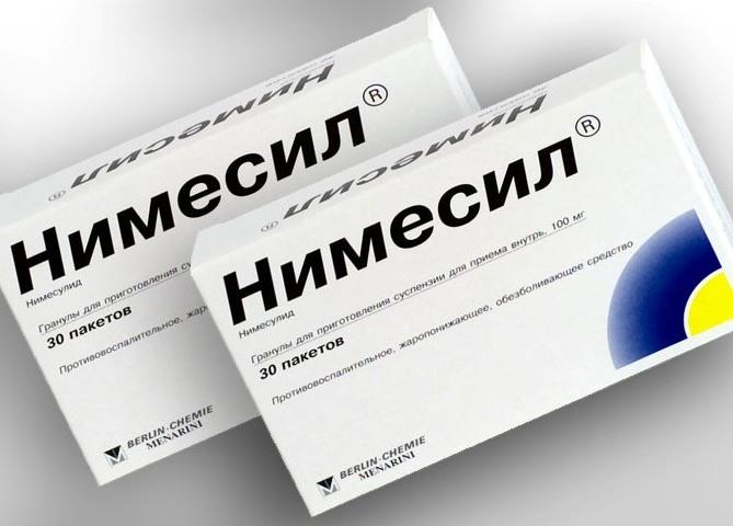 Препарат Німесил: фармакологічна дія, показання, спосіб застосування, побічні дії, протипоказання та взаємодію з іншими препаратами
