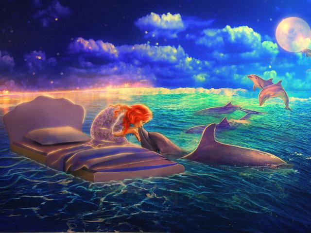 Сонник — дельфін: до чого сниться уві сні білий, рожевий, мертвий, поранений дельфін? До чого сняться дельфіни у воді, в море жінці, дівчині, чоловікові: тлумачення сну
