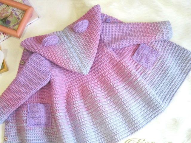 Пальто для дівчинки гачком: візерунок для в'язання, вступна інструкція з виконання робіт, опис — як пов'язати деталі пальто?