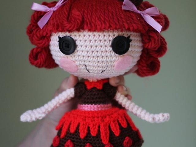 В'язані ляльки Лалалупсі гачком: майстер-клас, схеми і опис. Кращі ляльки Лалалупсі, пов'язаних гачком: фото
