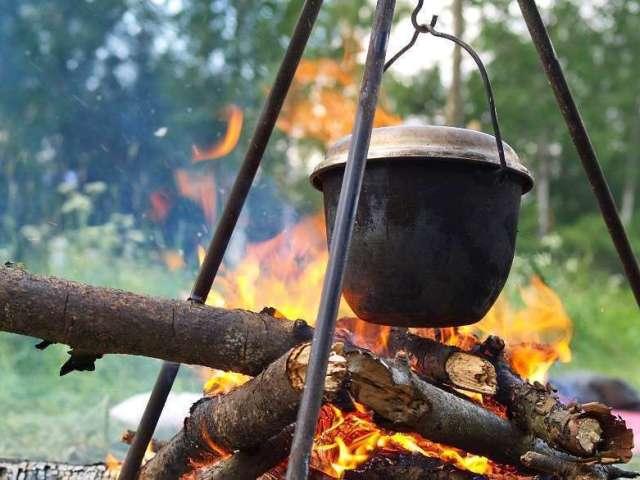 Що можна приготувати на природі: найкращі рецепти м'ясних і рибних страв на вогнищі — свинячий і грибний шашлик, реберця, сазан, скумбрія, картопля, вуха, лагман, шурпа, морський коктейль