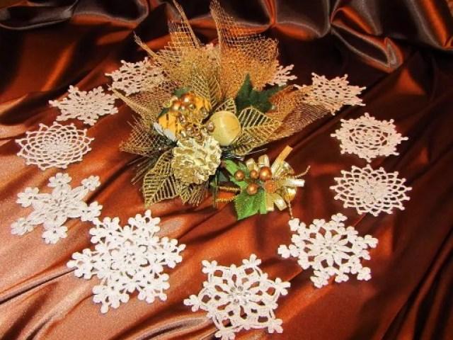 Як зв'язати гачком гарну сніжинку? Сніжинки гачком: візерунок, схеми з описом для початківців