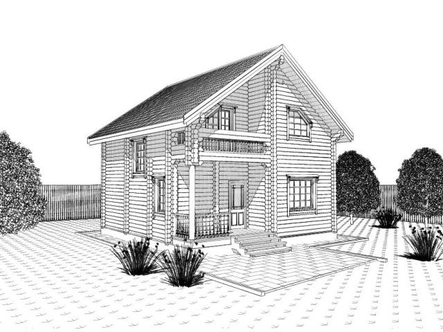 Як намалювати красивий будинок своєї мрії олівцем поетапно? Як намалювати двоповерховий будинок?