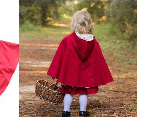 Як пошити дитячий плащ накидку карнавальну і дощовик з капюшоном для дівчинки і хлопчика: викрійки, фото. Як зшити плащ накидку своїми руками дитини від дощу і на карнавал?