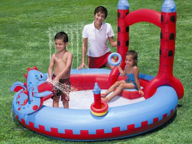 Як купити дитячий і сімейний надувний басейн на Алиэкспресс для дачі: ціна, каталог, відгуки, фото