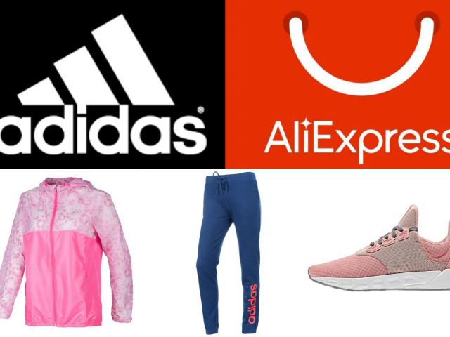 Жіночий одяг та взуття Adidas на Алиэкспресс: як шукати? Як купити в інтернет магазині Алиэкспресс Adidas жіночі куртки, толстовки, футболки, штани, легінси, кросівки, спортивний костюм, шорти, шапки, шкарпетки, сумки — оригінали та копії?
