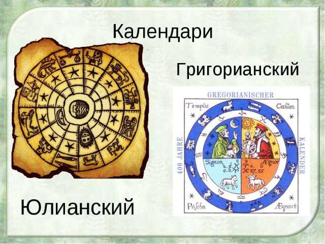 Календар Юліанський і Григоріанський: чим новий стиль календаря відрізняється від старого, як обчислювати дати історичних подій?