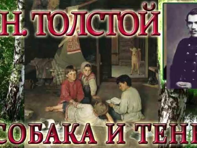 Аналіз байки Толстого «Собака та її тінь». До чого приводити заздрість і гонитва за чужим щастям?