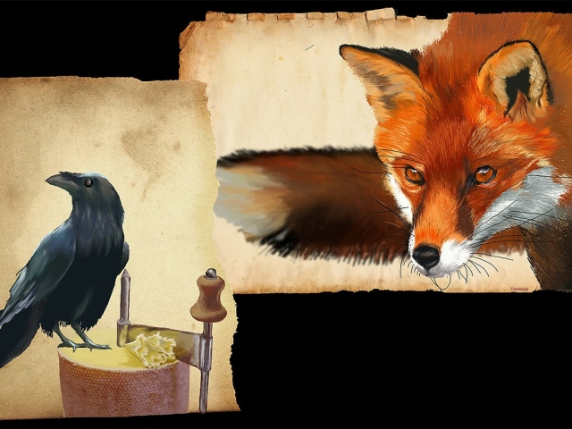 Байка Крилова «Ворона і лисиця»: аналіз байки, лестощі як основний елемент подій у байці. Порівняння життєвих ситуацій з прикладом у байці Крилова «Ворона і лисиця»: використання і розпізнавання лестощів