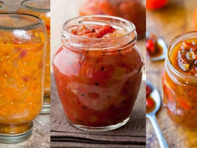 Салат з огірків, помідорів, перцю на зиму: 2 кращих покрокових рецепту з докладними інгредієнтами