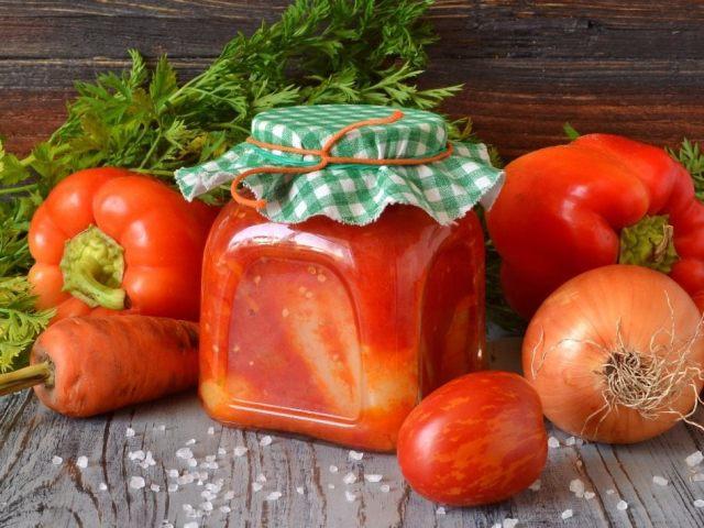 Солодкий перець в томаті на зиму: 2 кращих покрокових рецепту з докладними інгредієнтами