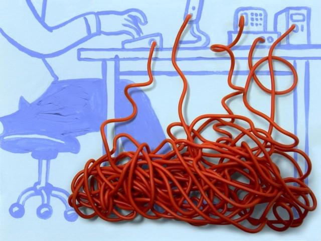 Як красиво заховати дроти від телевізора? Як заховати проводку в бетонній і гіпсокартонної стіні? Незвичайні способи заховати дроти на стіні: опис