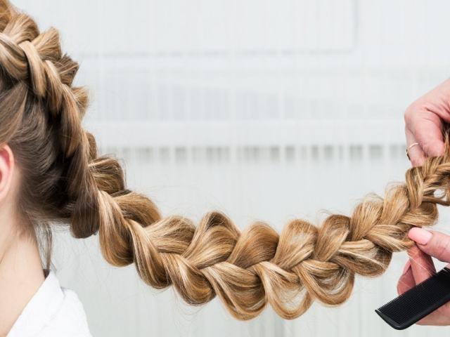 Коса навпаки, французька коса: схеми, інструкція плетіння. Зачіски на основі коси навпаки з стрічками, гумками, канекалоном, гофре: фото