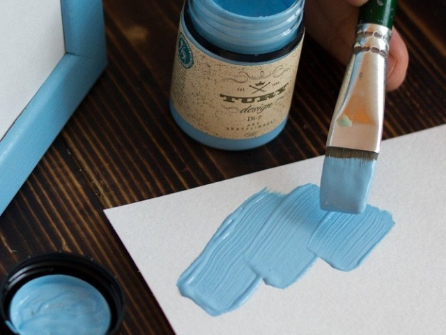 Як отримати блакитний колір при змішуванні фарб?